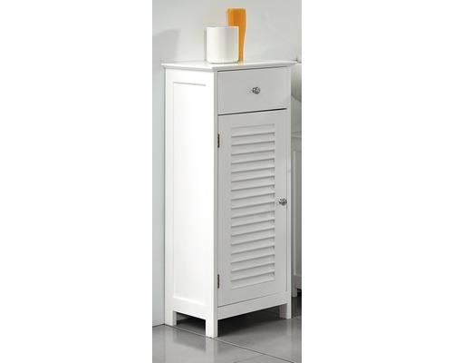 Szafka Do łazienki Stojąca Biała Lewe Otwarcie Pelipal Seria Jasper Szer 32 Cm Top